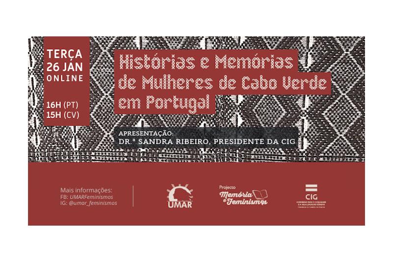 """O livro das """"Histórias e Memórias de Mulheres de Cabo Verde em Portugal"""""""
