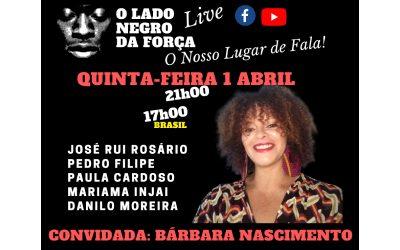 """Da """"Favela no Feminino"""" ao acto """"Parem de Nos Matar"""", Bárbara solta o verbo"""