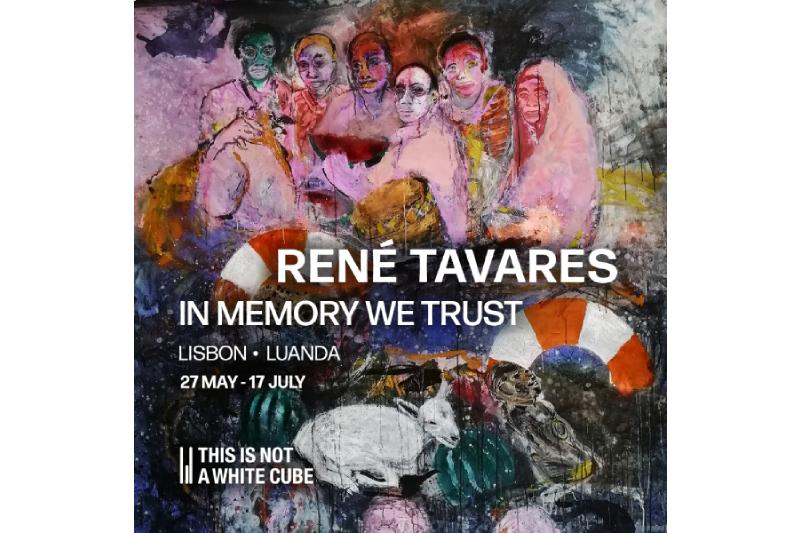 Artista René Tavares reflecte sobre memória, património e miscigenação