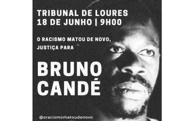 """Justiça por Bruno Candé: """"Para que não se esqueça e nunca mais aconteça!"""""""