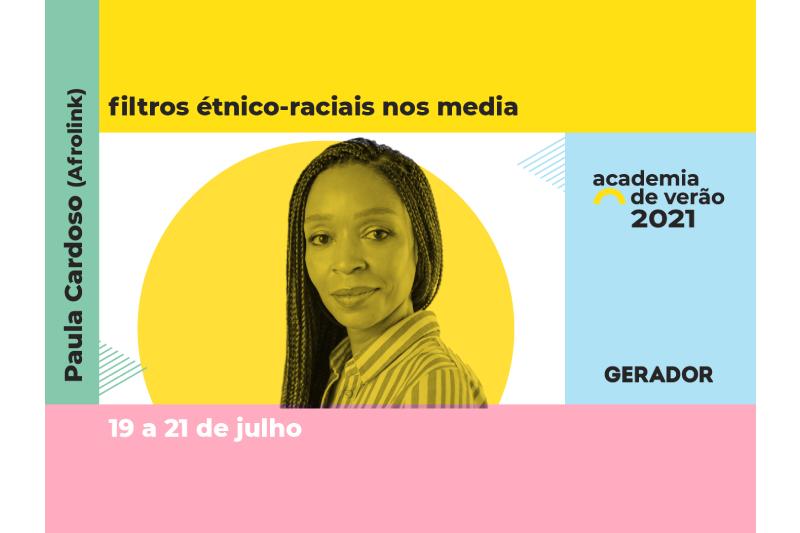 Filtros étnico-raciais nos media: um curso com marca Afrolink no Gerador