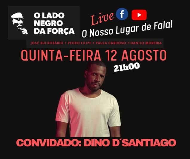 Não é sonho nenhum, é Dino D'Santiago a concretizar a nossa crioulização