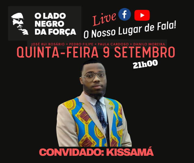 Em Angola ou na diáspora, Kissamá faz da defesa dos Direitos Humanos destino