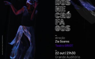 O Riso dos Necrófagos que se solta em Coimbra, com a arte Griot